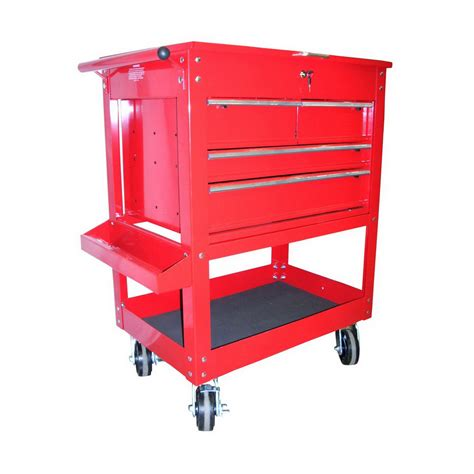 Five Drawer Tool Cart by Shop K Tool International 35 5 In 4 Drawer Utility Cart At