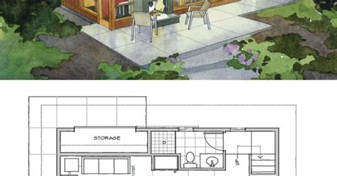 800sft house plan small modern cabin home plan by peter brachvogel and sheila corroso 800sft houseplans