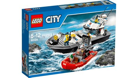 lego city boat 60129 police patrol boat lego 174 city products and sets