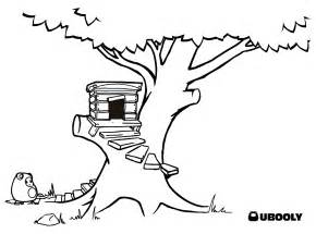 treehouse coloring pages free coloring pages of tree house