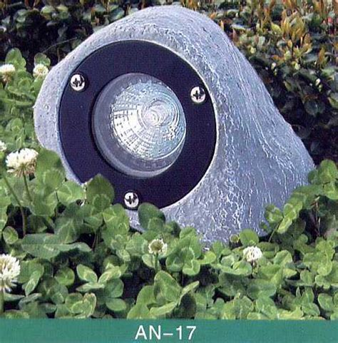 Rock Lights For Garden Animal Lighting Poly Resin Composit Low Voltage 12 Volt Landscape Fixture Rock Tjb Inc