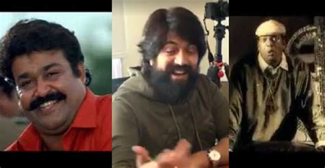 kannada actor yash songs kgf star yash impresses with mohanlal s punch dialogue