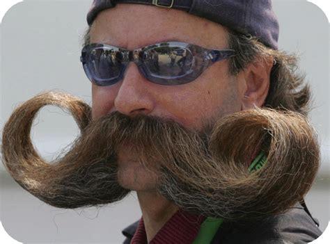 with a mustache moustache contest