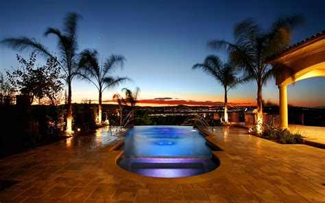 Houses Design World Architecture Villa Houses Mansion Pool Water Scenic