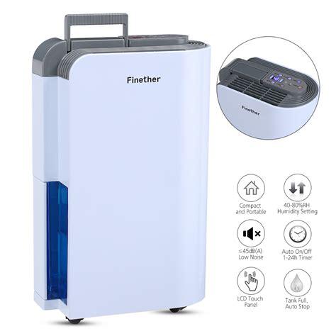 Bathroom Air Dryer by 12l Air Dehumidifier Lcd Anion Air Purify Timer Dryer Home