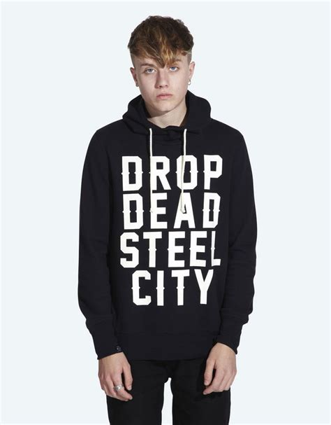 Sweater Drop Dead Drop Dead City Pullover Hoodie 163 60 Www Dropdead Co