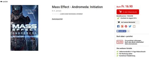 mass effect initiation mass effect andromeda books un li 233 224 mass effect andromeda pour 2016