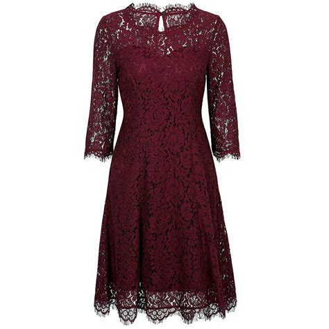 Dres Brokat dress brokat maroon dress brokat dress pesta brokat