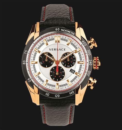 Harga Jam Versus Versace versace vdb04 0014 v chronograph black leather