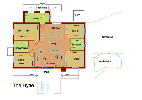 hytte accessible  catering holiday cottage