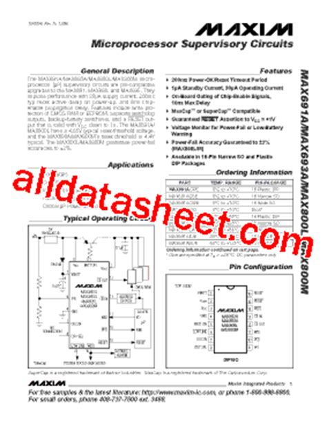 maxim integrated products number of employees max691 datasheet pdf maxim integrated products