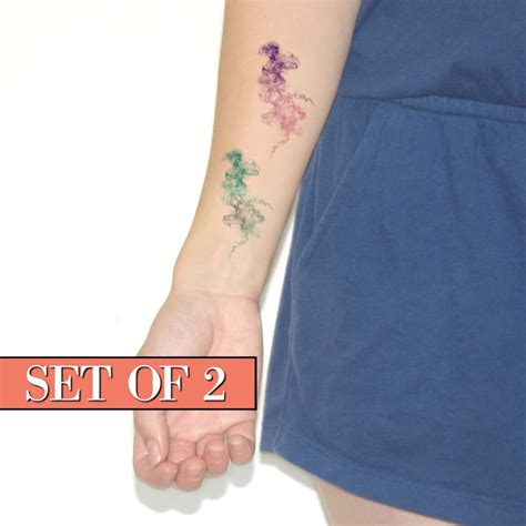 watercolor tattoos temporary temporary watercolor watercolour colourful