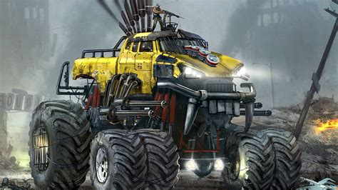 cool monster truck cool monster wallpapers 65 images