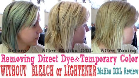 how to remove temporary hair color removing temporary hair color direct dyes without