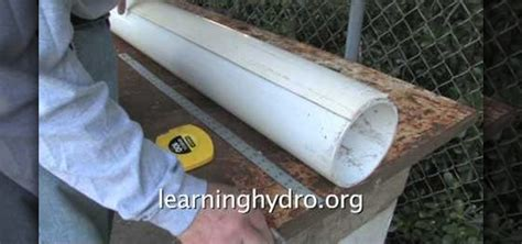 how to easily make a hydroponic garden using a pvc pipe