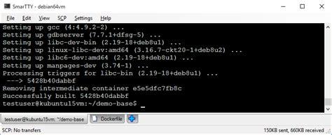 tutorial docker debian debugging c c code in docker containers with visualgdb