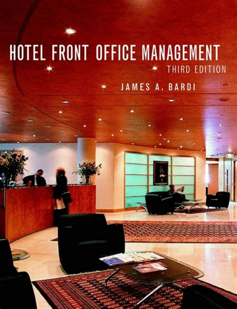 layout of front office department in a hotel hotel front office management 3rd edition