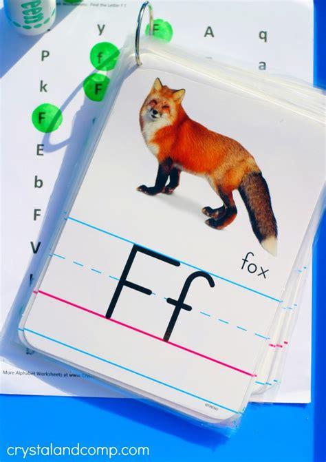 preschool letter worksheets    frog