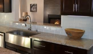 modern kitchen countertops and backsplash glass tile backsplashes by subwaytileoutlet modern kitchen other by subway tile outlet