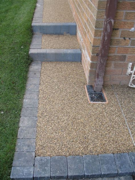 resin bonded patio 25 best ideas about driveway paving on