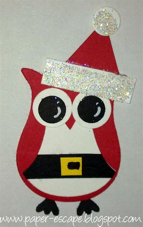 images of christmas owls paper escape olivia moore stin up demonstrator