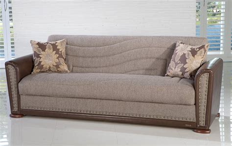 istikbal alfa sleeper sofa redeyef brown alfa s s1087 at