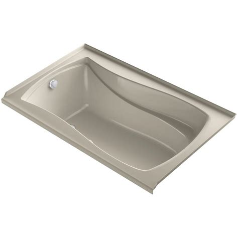 home depot kohler bathtub kohler mariposa air bath tub sandbar