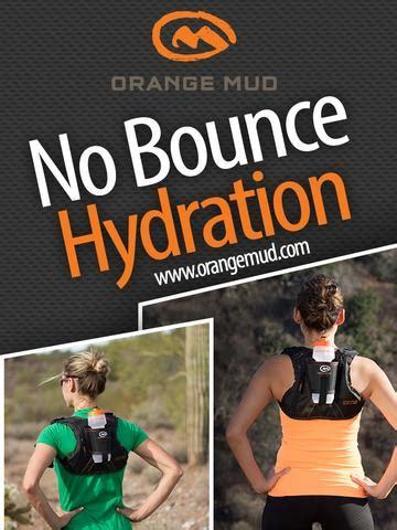 hydration pack running orange mud news orange mud for no bounce hydration