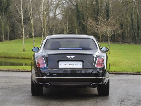 bentley mulsanne blacked out stock tom hartley jnr