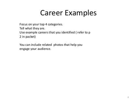 exle career portfolio