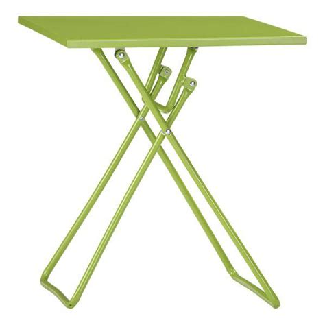 Outdoor Folding Side Table To Go Green Folding Side Table In Outdoor Lounging Crate And Barrel