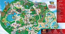 six flags map park map six flags great america