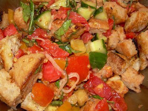 italian bread salad recipe ina garten mrs chow s kitchen 187 post topic 187 panzanella italian