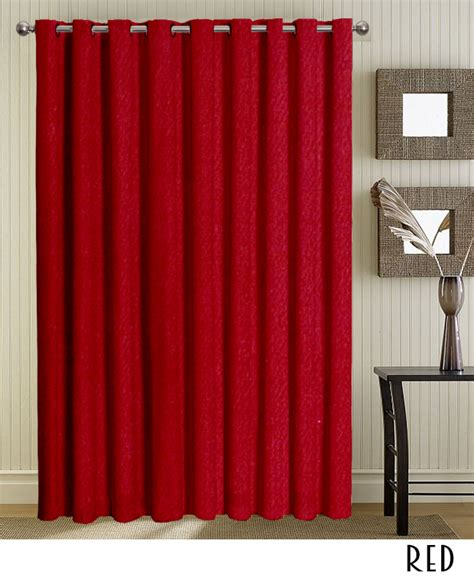 red drapes with grommets grommet red curtains and drapes