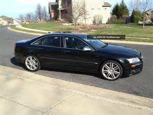 2007 audi s8 quattro sedan 4 door 5 2l v10 black