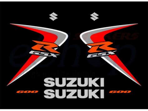Suzuki Gsxr Stickers Gsxr 600 K6 2006 Set Eshop Stickers