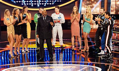 what is celebrity family feud drivers dominate in celebrity family feud showdown with