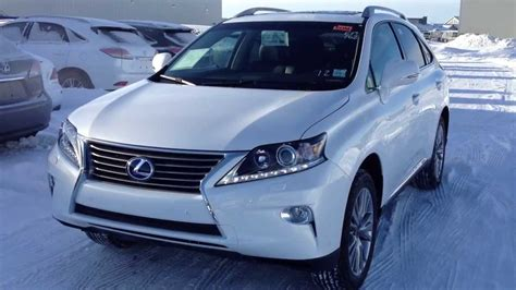 lexus hybrid 2014 2014 lexus rx 450h hybrid awd in white touring package