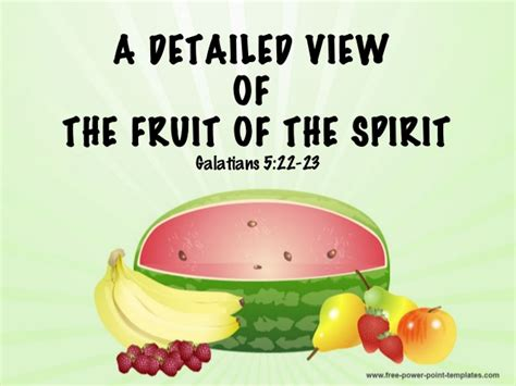 9 fruits of the spirit galatians a detailed view of the fruit of the spirit