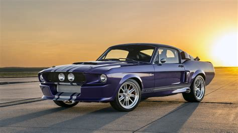 mustang classic classic recreations quot blurple quot 67 shelby mustang