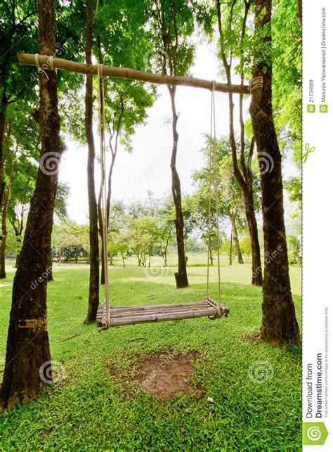 swing in the garden swing and garden royalty free stock images image 21734909