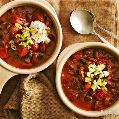 better homes gardens chili recipes comforting cooker chili recipes better homes gardens