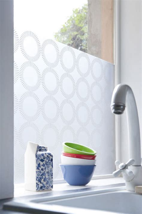 Decorative Window Film For Office, Kitchen or Living Room