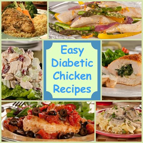 diabetic dish recipes healthy 18 easy diabetic chicken recipes