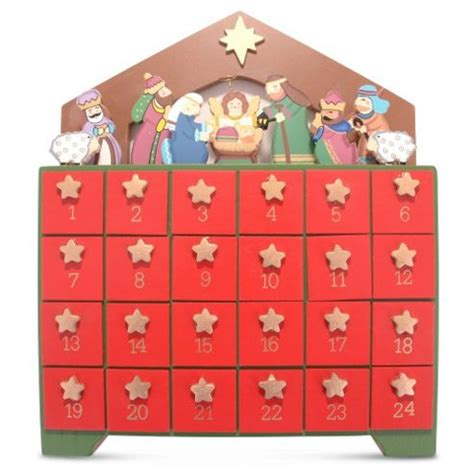 wooden nativity advent calendar with drawers buy wooden advent calendar with draws nativity scene