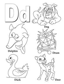 color starting with d coloring pages for letter quot d quot coloring pages for