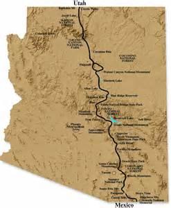 arizona hiking trail maps hiking the arizona trail desertusa