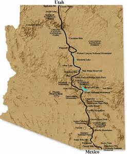 arizona trail map hiking the arizona trail desertusa