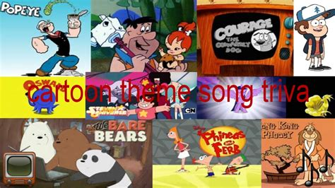 theme songs cartoon cartoon theme song trivia youtube