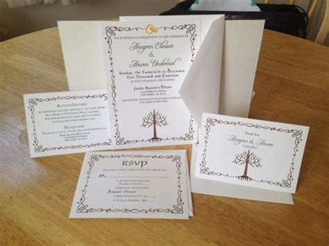 earth themed wedding invitations 568 best images about middle earth decor on